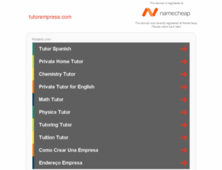 tutorempresa.com screenshot