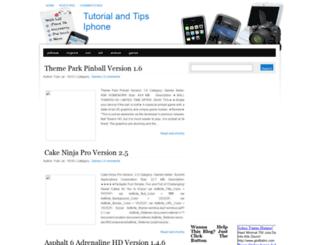 tutorial-iphone.blogspot.com screenshot