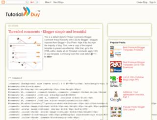 tutorialduy.blogspot.in screenshot