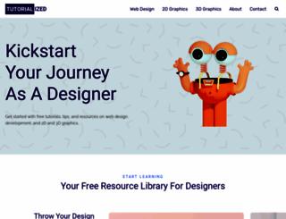 tutorialized.com screenshot
