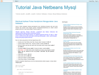 tutorialjavanetbeansmysql.blogspot.com screenshot