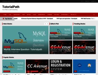 tutorialpath.com screenshot