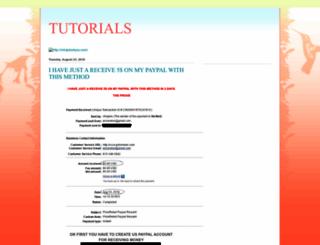 tutorials-software-math.blogspot.com screenshot