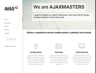 tutorials.ajaxmasters.com screenshot