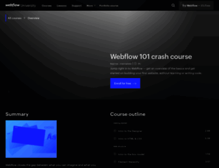 tutorials.webflow.com screenshot