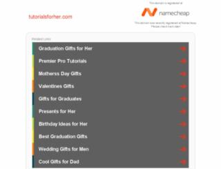 tutorialsforher.com screenshot