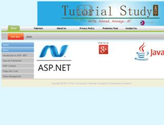 tutorialstudy.com screenshot