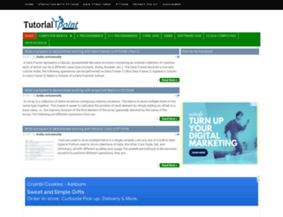 tutorialtpoint.net screenshot