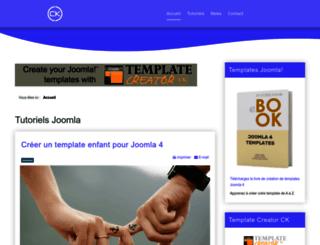 tutoriels-joomla.joomlack.fr screenshot