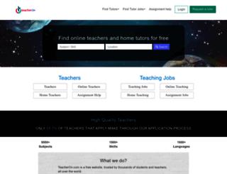 tutorindia.net screenshot