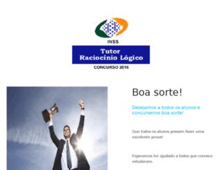 tutorraciociniologico.com.br screenshot