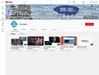 tutorreels.com screenshot