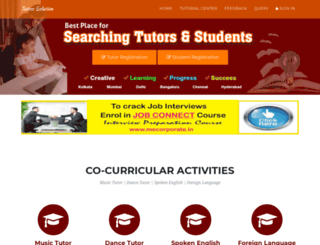tutorssolution.com screenshot