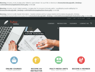 tutorteaching.com screenshot
