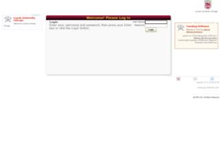 tutortrac.luc.edu screenshot
