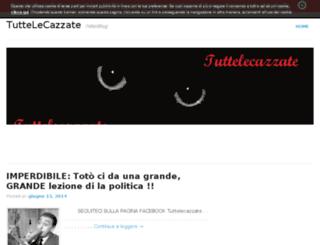 tuttelecazzate.altervista.org screenshot