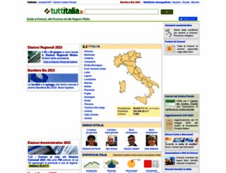 tuttitalia.it screenshot