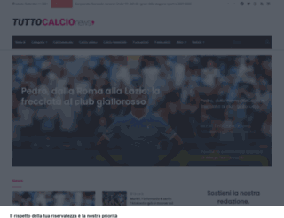 tuttocalcionews.it screenshot