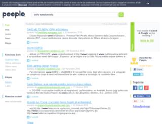 tuttofamedia.splinder.com screenshot