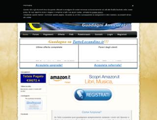 tuttolocandine.it screenshot