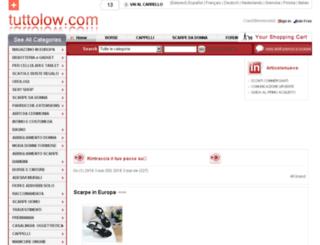 tuttolow.com screenshot