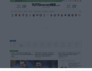 tuttomercatoweb.it screenshot