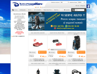 tuttopescamare.com screenshot