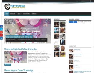 tuttoscemo.com screenshot