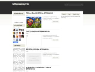 tuttostreaming24h.blogspot.it screenshot