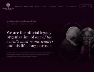 tutu.org.za screenshot