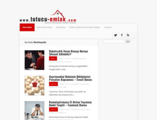 tutucu-emlak.com screenshot