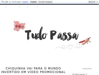 tuudopassa.blogspot.com.br screenshot
