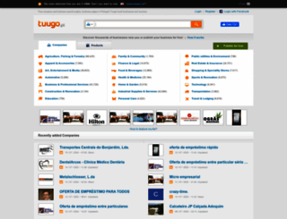 tuugo.pt screenshot