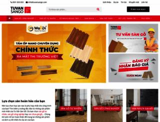 tuvansango.com screenshot