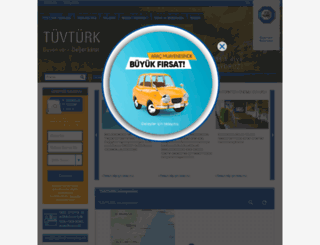 tuvturk.com.tr screenshot