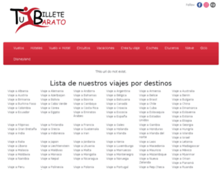 tuvuelobarato.com screenshot