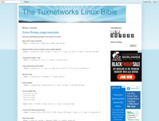 tuxnetworks.blogspot.com screenshot