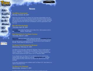 tuxracer.sourceforge.net screenshot