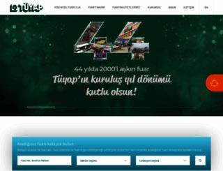 tuyap.com.tr screenshot