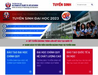 tuyensinh.hcmute.edu.vn screenshot