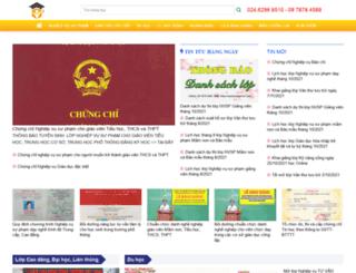 tuyensinhcanuoc.com screenshot