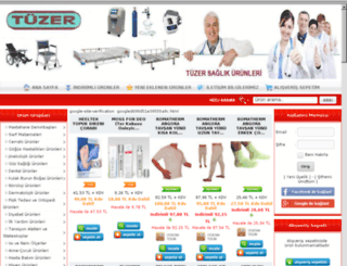 tuzersaglik.com screenshot