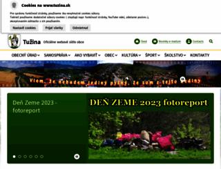 tuzina.sk screenshot