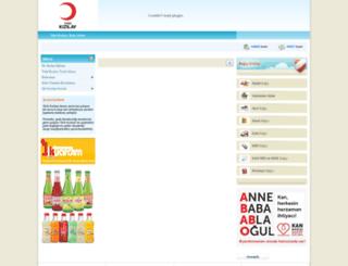 tuzla.kizilay.org.tr screenshot