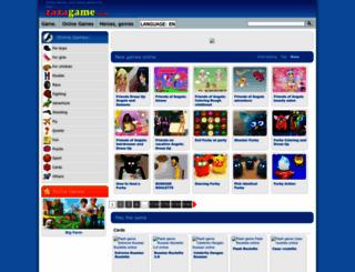 tv-en.zazagame.com screenshot