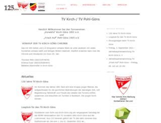 tv-kirch-goens.de screenshot