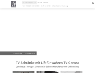 tv-schrank.com screenshot