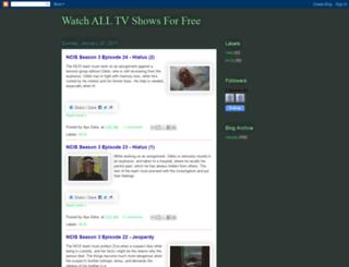tv-shows4all.blogspot.com screenshot