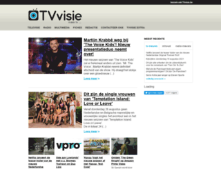 tv-visie.nl screenshot