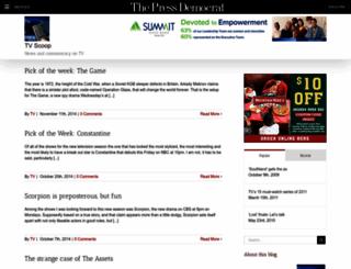 tv.blogs.pressdemocrat.com screenshot